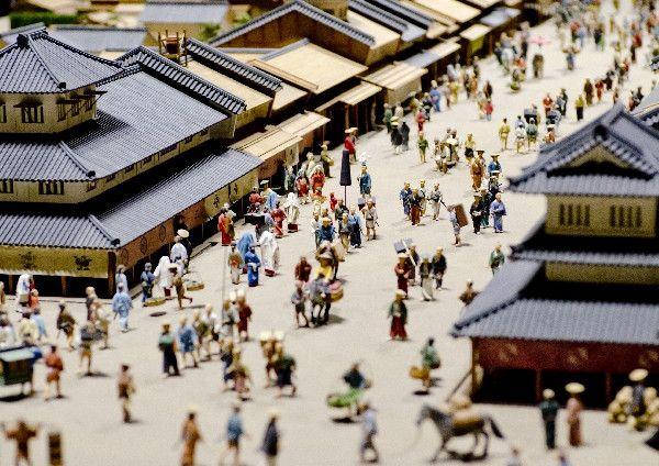 日本でノベルティが登場したのは江戸時代